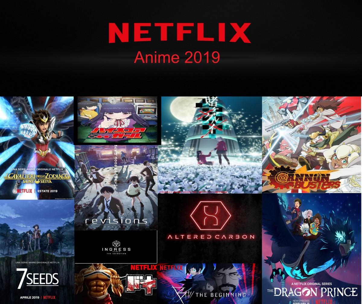 Netflix, gli anime in arrivo nel 2019